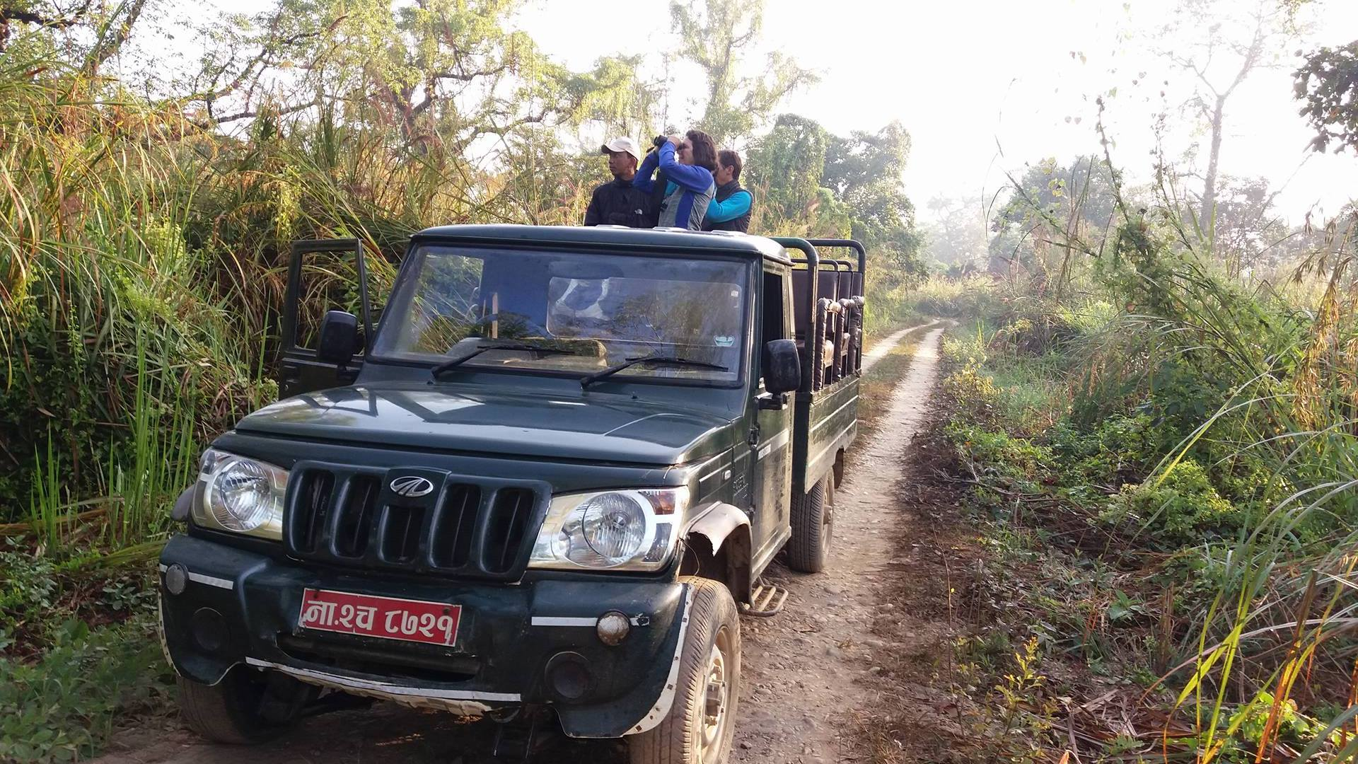 Jeep Safari Chitwan