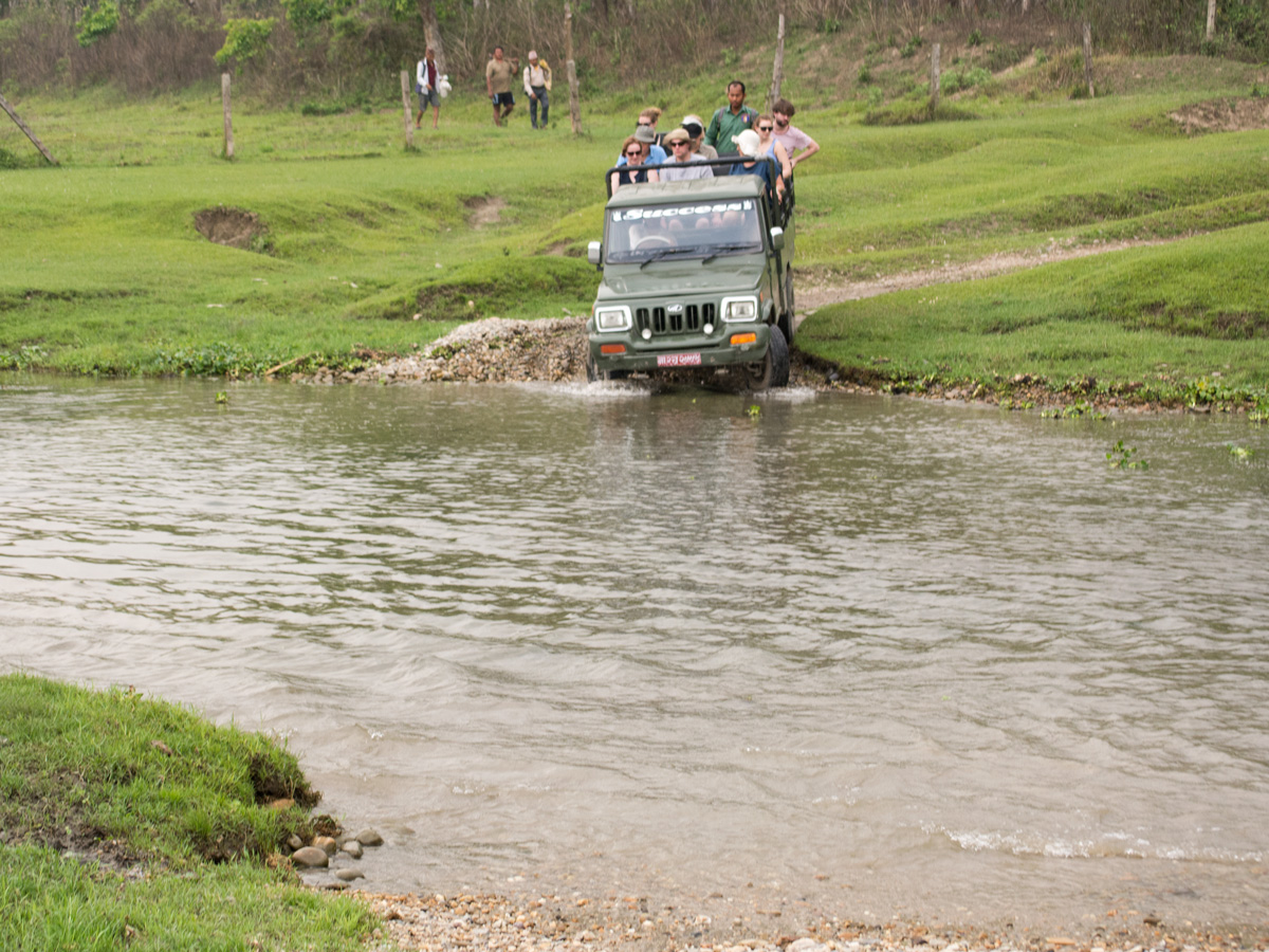Monsoon Forced to close Jeep Safari inside Chitwan National